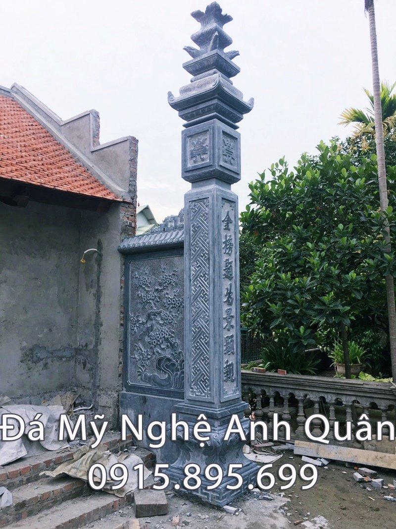 Cột đèn đá Nhà thờ họ