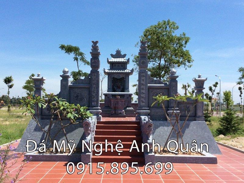 Cổng đá của Lang mộ đá ĐẸP dòng tộc Nguyễn Hữu