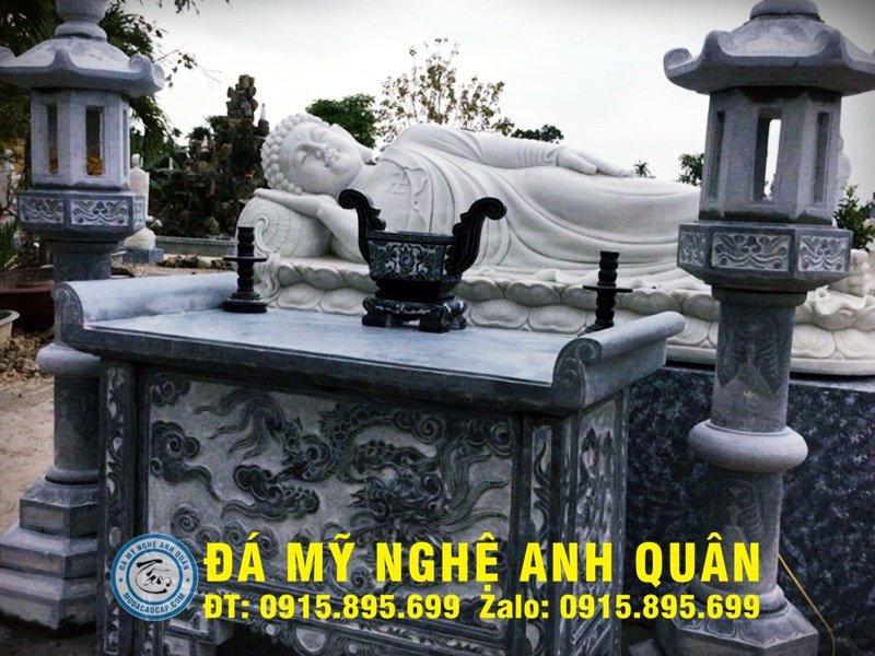 Bàn lễ đá ĐẸP nhà Anh Dương ở Đà Nẵng