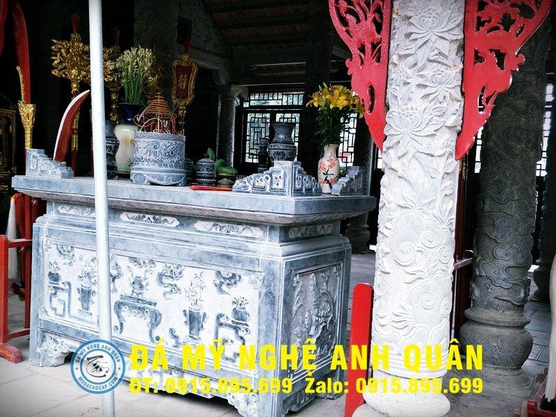Bàn lễ đá ĐẸP nhà Chị Hằng ở Hải Phòng