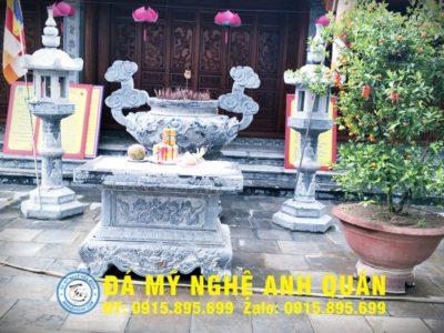 Bàn lễ đá ĐẸP nhà Chị Lan ở Hà Nội