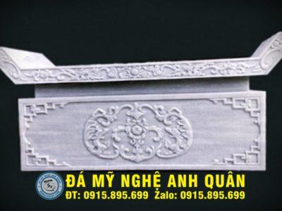Bàn lễ đá ĐẸP nhà Bác Quân ở Hà Giang