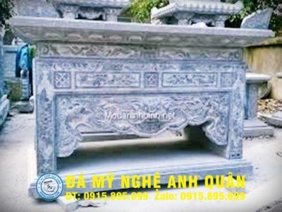Bàn lễ đá ĐẸP nhà Chú Khôi ở Hà Nam