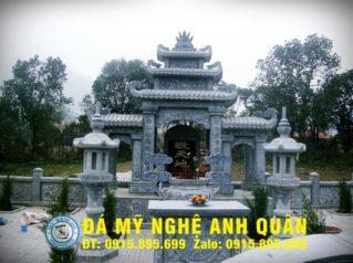 Bàn lễ đá ĐẸP nhà Anh Luận ở Hà Tĩnh