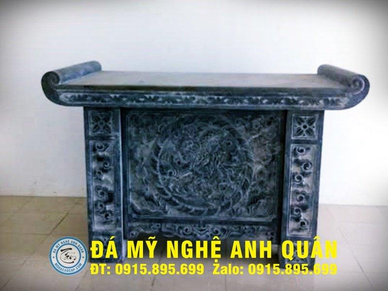 Bàn lễ đá ĐẸP nhà Anh Văn ở Hải Dương
