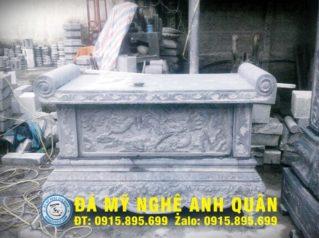 Bàn lễ đá ĐẸP nhà Anh Lê Cường ở Nam Định