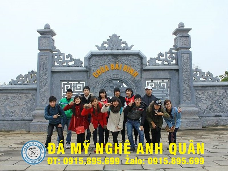 Mẫu cuốn thư đá ĐẸP nhà Chú Sáng ở Lạng Sơn