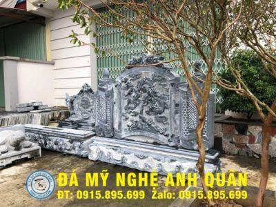 Mẫu cuốn thư đá ĐẸP nhà Chú Thắng ở Lào Cai