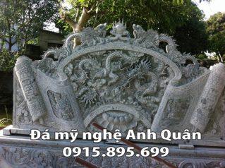 Mẫu cuốn thư đá ĐẸP nhà Anh Luận ở Hà Tĩnh