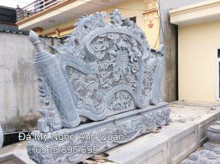 Mẫu cuốn thư đá ĐẸP nhà Anh Trung ở Quảng Ninh