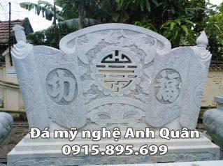 Mẫu cuốn thư đá ĐẸP nhà Bác Chính ở Thanh Hóa