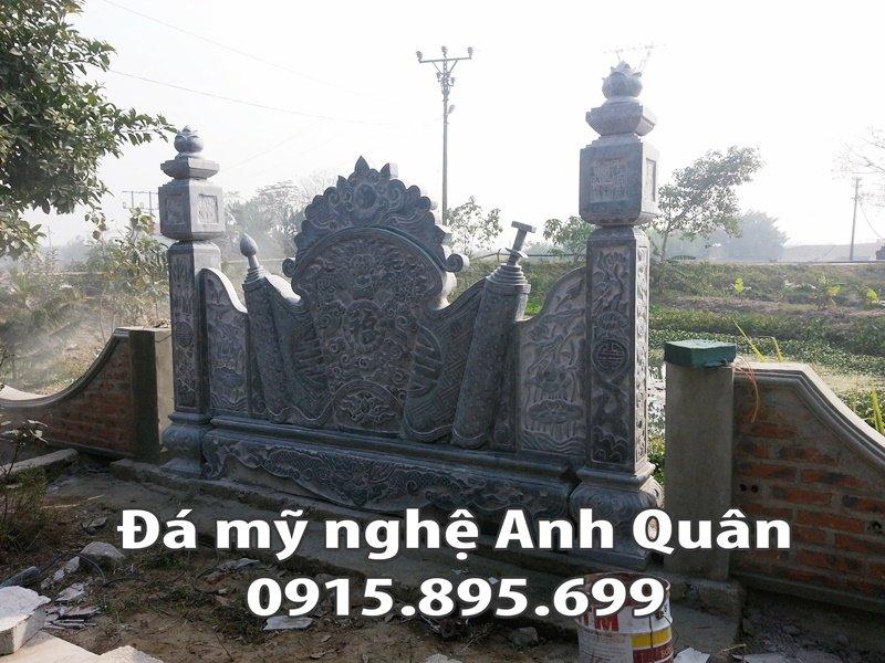 Mẫu cuốn thư đá ĐẸP nhà Bác Chung ở Tuyên Quang