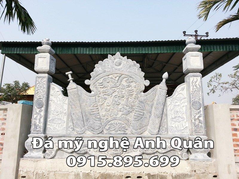 Mẫu cuốn thư đá ĐẸP nhà Chú Doanh ở Vĩnh Long