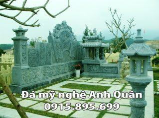 Mẫu cuốn thư đá ĐẸP nhà Chú Tuấn ở Bắc Giang
