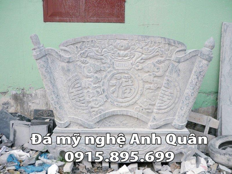 Mẫu cuốn thư đá ĐẸP nhà Anh Thông ở Bắc Ninh