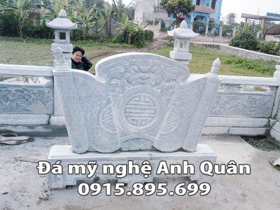 Mẫu cuốn thư đá ĐẸP nhà Bác Luyến ở Bình Định