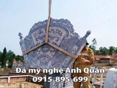 Mẫu cuốn thư đá ĐẸP nhà Ông Thái ở Cao Bằng