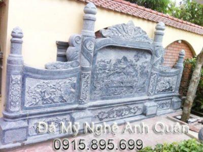 Mẫu cuốn thư đá ĐẸP nhà Anh Vinh ở Kon Tum