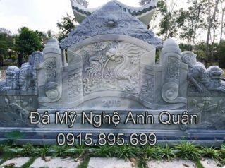 Mẫu cuốn thư đá ĐẸP nhà Anh Đăng ở Lai Châu