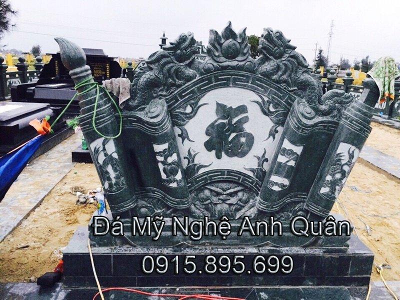 Mẫu cuốn thư đá ĐẸP nhà Chú Khai ở Lâm Đồng
