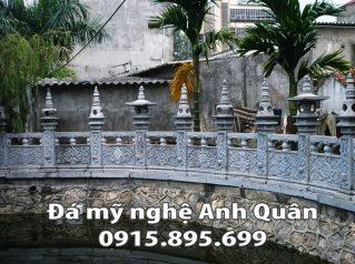 Lan can đá ĐẸP tại Điện Biên