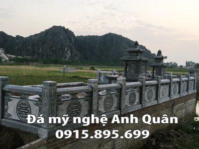Lan can đá ĐẸP tại Cao Bằng