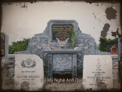 Bàn thờ đá Lăng mộ
