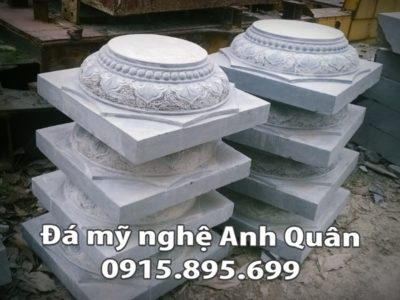 Chân cột đá tại Quảng Ninh
