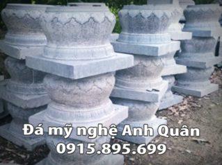 Chân cột đá tại Thái Nguyên
