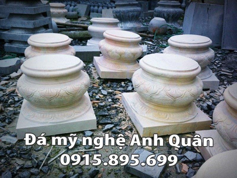 Chân cột đá tại Điện Biên