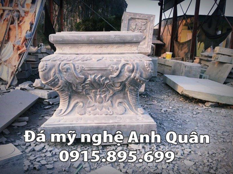 Chân cột đá tại An Giang