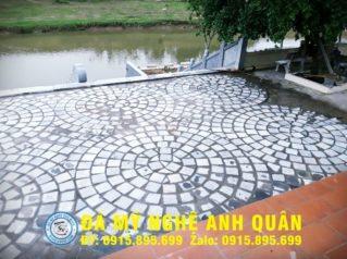 Đá lát sân vườn tự nhiên tại Hà Nội