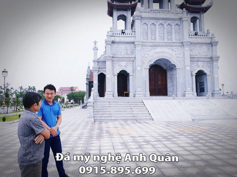 Da my nghe Anh Quan nhan tu van - thiet ke - thi cong - lap dat Nha tho giao