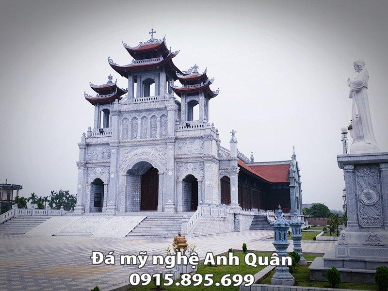 Nha tho giao Thiet ke mang phong cach Chau Au và Phương Đông