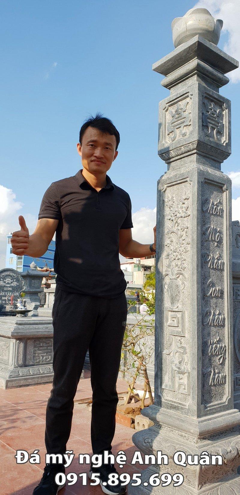 Cột đá ĐẸP của Khu Lăng mộ ĐẸP