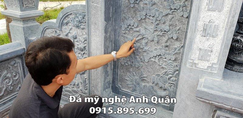 Hoa đào cổ của Lăng thờ đá ĐẸP