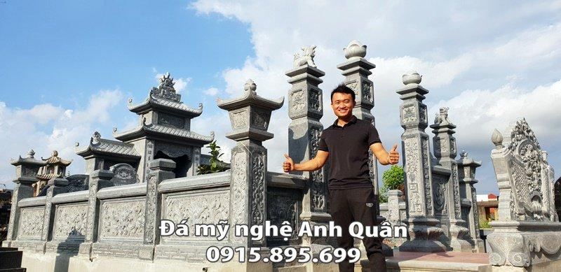 Lam lang mo da tai Ninh Binh