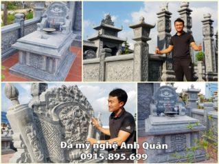 Lăng mộ đá ĐẸP chốn mộ phần con cháu viếng thăm