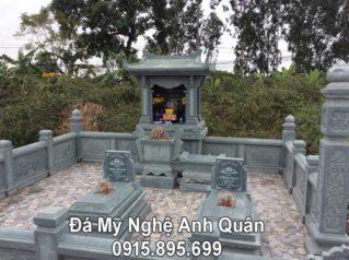 Công trình Lăng Mộ Đá Xanh Rêu Cao Cấp tại Hưng Yên