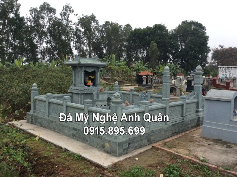 Mẫu Khu lăng mộ ĐẸP