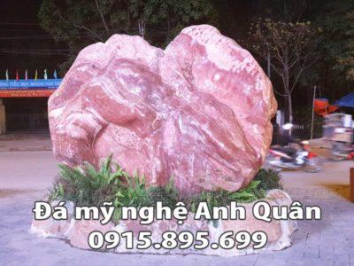 Bia đá công ty bằng Đá Thạch Anh nguyên khối