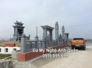 Công trình Lăng Mộ Đá Đẹp của dòng Họ Nguyễn Trần