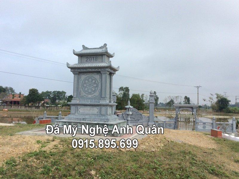 Khu lang mo da dep dong ho Nguyen Tran tai Nam Dinh