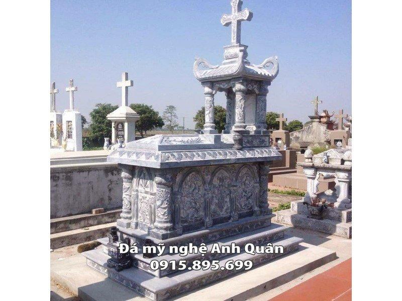 Lăng mộ đá công giáo đẹp tại Nam Định