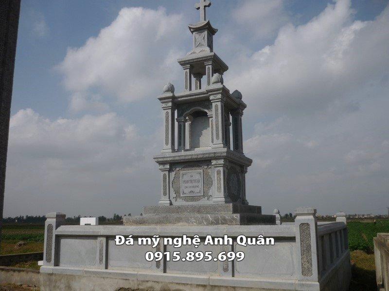 Mộ đá công giáo, Mẫu mộ đá công giáo Anh Quân