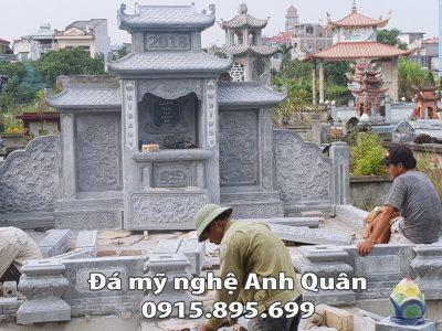 Trần gia chi lăng mộ đá đẹp tại Nam Định