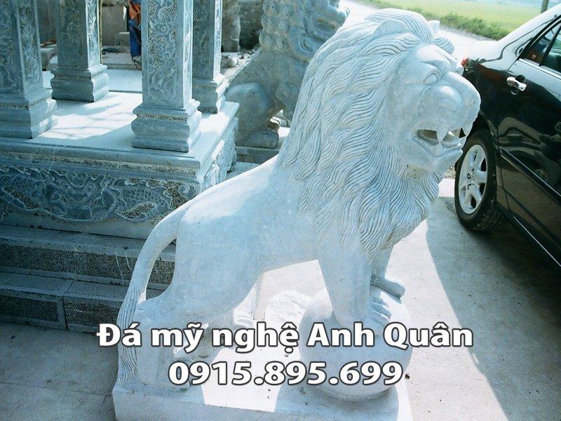 Sư tử đá tại Ninh Bình