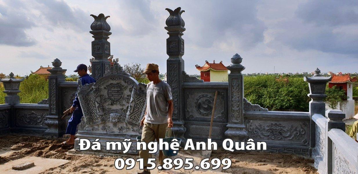 Thi cong - Lap dat Lang mo da tai Nam Dinh