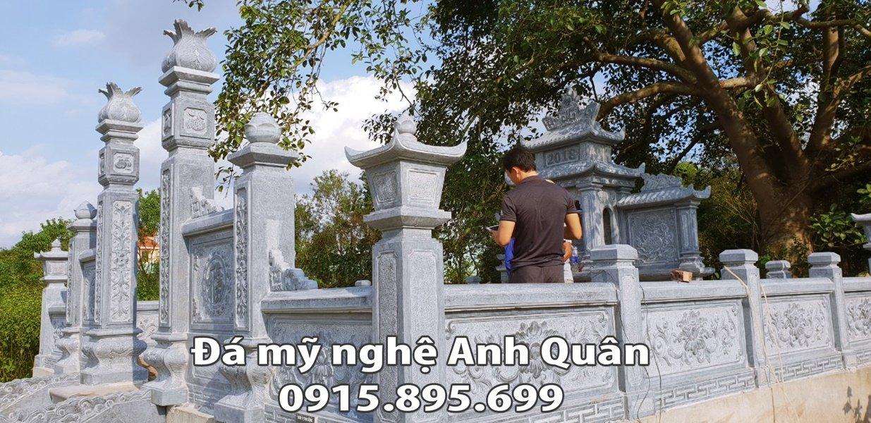 Tong the khu lang mo da voi kich thuoc kha rong