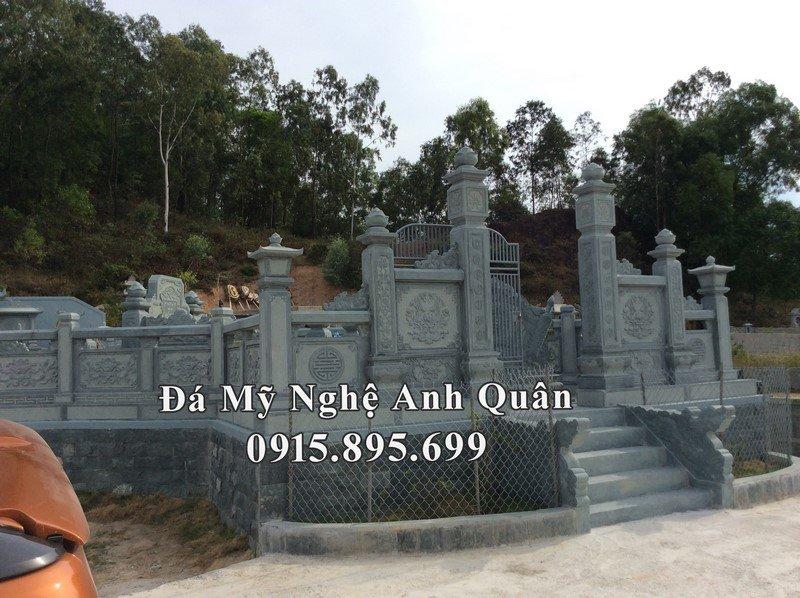 Lăng mộ đá xanh rêu Anh Quân tại Nghệ An